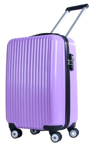 American Flyer Luggage Boson Hard-Case 21 Inch Carry-On, Purple, One Size by American Flyer