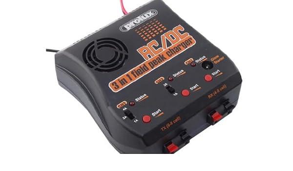 3 en 1 Field pico de batería por Prolux 3706 - 230 V AC/DC ...