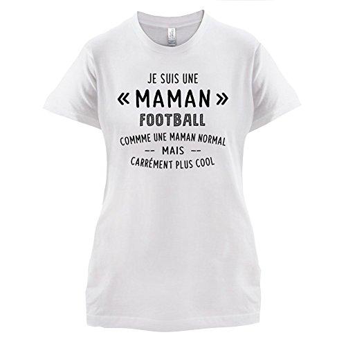 une maman normal football - Femme T-Shirt - Blanc - M