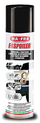 Detergente protettivo per spoiler e plastiche auto 300 ml MA-FRA FASPOILER SPRAY MA FRA