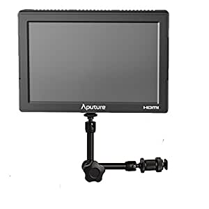 Aputure VS-5 + EACHSHOT 7'' Magic Arm, HD-SDI HDMI 1920*1200 Video Monitor +Magic Arm f. Sony Canon Nikon