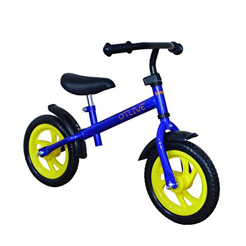 OTLIVE 12 Inch Toddler Balance Training Bike for Boys or Girls (no pedal)