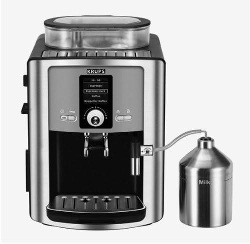Krups Espresseria Automatic EA 8050-Cafetera espresso + espumador de leche: Amazon.es: Hogar