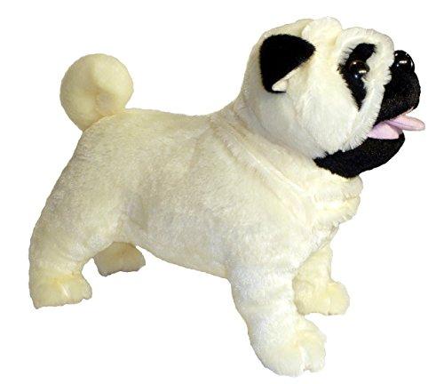 Plush Stuffed Pug Dog (ADORE 12
