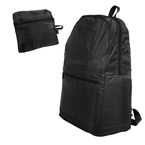 zodaca-foldable-lightweight-travel-backpack-water-resistant-hiking-camping-cycling-daypack-black