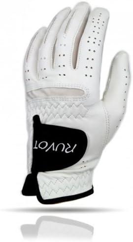 ruvot Guante de golf con Cabretta cuero Guantes de golf Glove ...