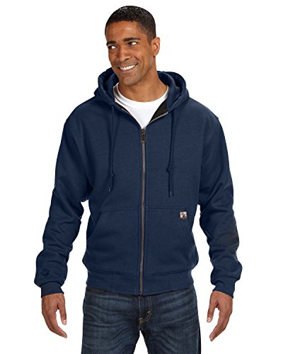 Dri Duck Men's Crossfire Thermal-Lined Fleece Jacket, Navy, X-Large