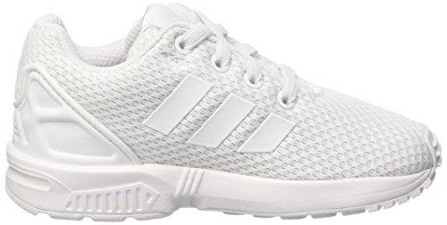 adidas Zx Flux El I, Zapatillas Unisex Bebé Bianco (Ftwwht/Ftwwht/Ftwwht)