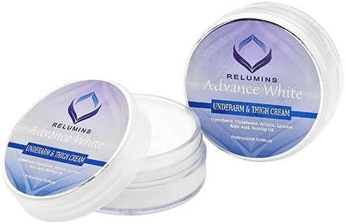 12 Jars ofRelumins Underarm & Inner Thigh Cream - Made for Hard to Whiten Areas