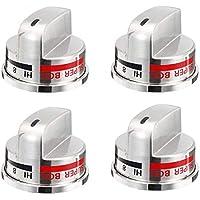 4 Pack EBZ37189609 for LG Range Super Broil Knob EBZ37189609 WB03K10287