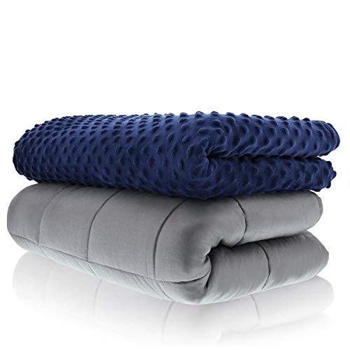 "GRAVITY Blanket The Weighted Blanket for Sleep Stress Anxiety 48x72/"" Navy 20lbs"