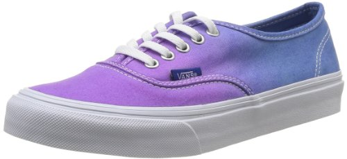 Vans Unisex Authentic Slim (Ombre)Hollyhock Skate Shoes-OmbrePurple-5.5
