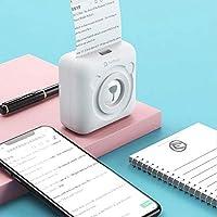 Calistouk Impresora térmica inalámbrica pequeña Bluetooth ...