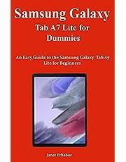 Samsung Galaxy Tab A7 Lite for Dummies: An Easy Guide to the Samsung Galaxy Tab A7 Lite for Beginners