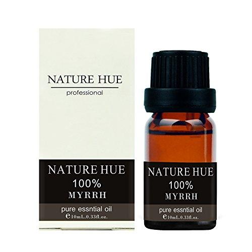 Nature Hue - Myrrh Essential Oil 10 ml, 100% Pure Therapeutic Grade, Undiluted