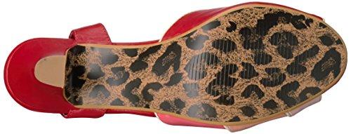 Bettie Page Women's Bp250-Abela Heeled Sandal Red bDvVDlb