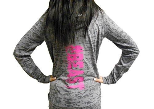 Strong Girl Clothing Women's #Beast Burnout Pullover Hoodie (Burnout Pullover)