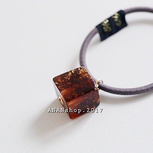 Womens Sugar Cube - . Hair rope Korean small sugar cube for women girl lady