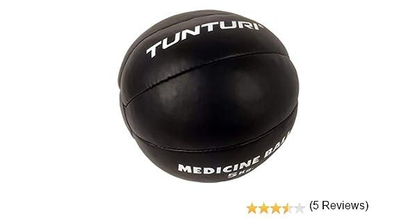 Tunturi Functional Balón Medicinal Cuero, Unisex Adulto, Negro, 2 ...