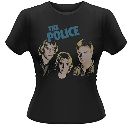 THE POLICE - OUTLANDOS D'AMOUR - OFFICIAL WOMENS T SHIRT