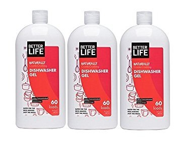 Better Life 30 oz. Dishwasher Gel (pack of 3)