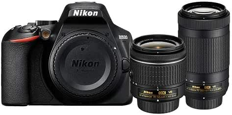 Nikon D3500 Cámara con Lente AF-P DX 18-55mm F/3.5-5.6G VR