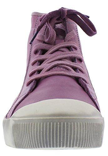 Femme Washed Kip448sof Hautes Violett Softinos lilac Baskets UvHAPIq