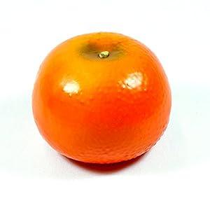 6pc Artificial Large Orange Tangerine Tangerines - Plastic Citrus Fruit - Six Pieces 84