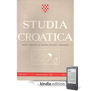 Studia Croatica - números 62-63 - 1976 (Spanish Edition) (Kindle Edition)