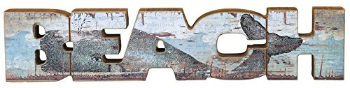 (Primitives by Kathy Chunky Word, Beach, 3 by 14.75-Inch)
