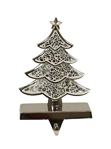 Tree Stocking Hanger (Silver Christmas Tree Stocking Hanger [H1602B])