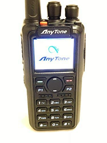 AnyTone AT-D868UV GPS Version II updated firmware Upgraded 3100mAh battery Dual Band DMR/Analog 144 & 480 MHz Radio