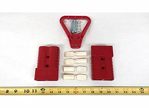 Price comparison product image 6322G1 Anderson Original Battery Connector 350 Red Mating Pair & Red Handle