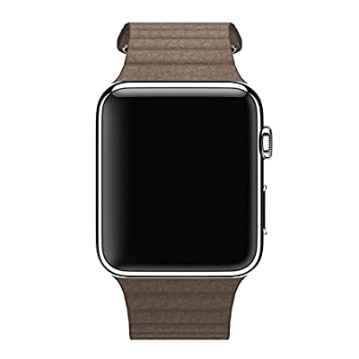 Apple 42MM Large Leather Loop for Apple Watch - Brown