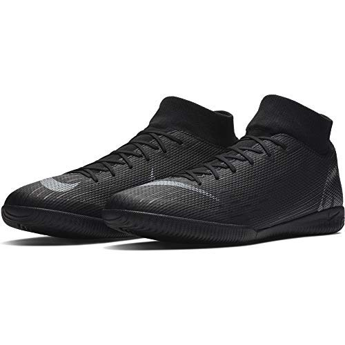 Nike Superfly X 6 Academy Men's Indoor Soccer Shoes (11.5 D US) Black