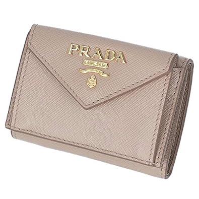 new product a2b23 00a34 Amazon | PRADA(プラダ) 三つ折り財布 ミニ財布 レディース ...