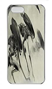 Chinese Ink and wash painting PC Transparent For SamSung Galaxy S3 Phone Case Cover - Monster
