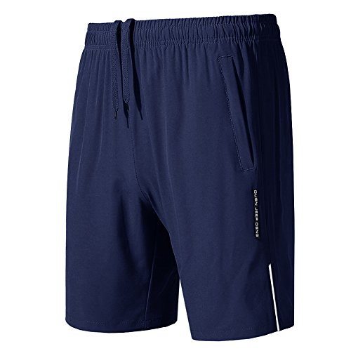 MAGCOMSEN Jogger Shorts for Men Men's Quick Dry Hiking Shorts Breathable Windproof Shorts Outdoor Sports Trekking Trousers Zip Shorts Men from MAGCOMSEN