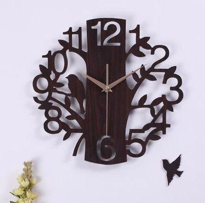 NabothT Movimiento de la Moda Relojes de Pared Sala observar Grandes Relojes de Pared ^1 tu Vida Brillante: Amazon.es: Hogar