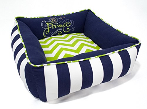X-Small Prince Dog Cat Pet Bed - Washable Reversible by J'adore Custom Pet Beds