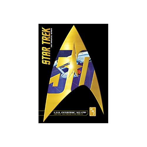 Model Kit Free Ship - AMT 947 Star Trek U.S.S. Enterprise NCC-1701 1:650 Scale Plastic Model Space Ship Kit - Requires Assembly