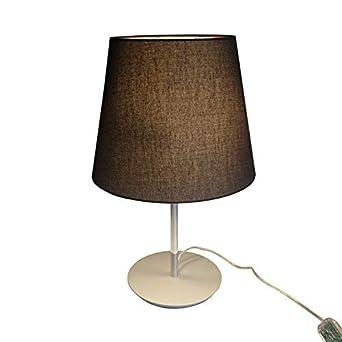 De Décoration Table Lampenlux Led Maras Lampe Marron tQsrhCxdB