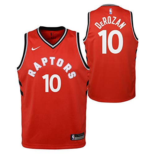 Outerstuff DeMar DeRozan Toronto Raptors NBA Nike Youth Red Icon Swingman Jersey