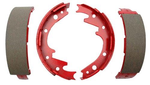 (ACDelco 17329B Professional Bonded Rear Drum Brake Shoe Set)