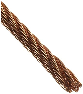 Loos Bronze Wire Rope, 6x7 Class Fiber Core