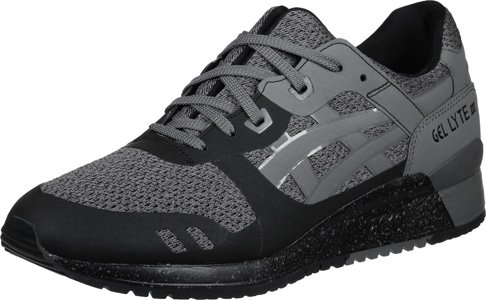 Asics - Gel Lyte III NS Black/Carbon - Sneakers Hombre Negro