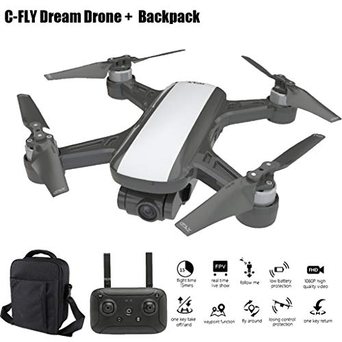 Pstars C-Fly Dream GPS WiFi FPV with 2-Axis Gimbal 1080P...