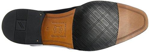 Daniel Hechter 811218031000, Zapatos de Cordones Derby para Hombre Schwarz (Schwarz)