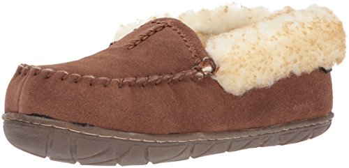 Old Friend Women's Zoey Slipper, Chocolate Brown, 9 M US