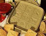 nordic ware shortbread - BROWN BAG AMERICAN BUTTER SHORTBREAD COOKIE PAN